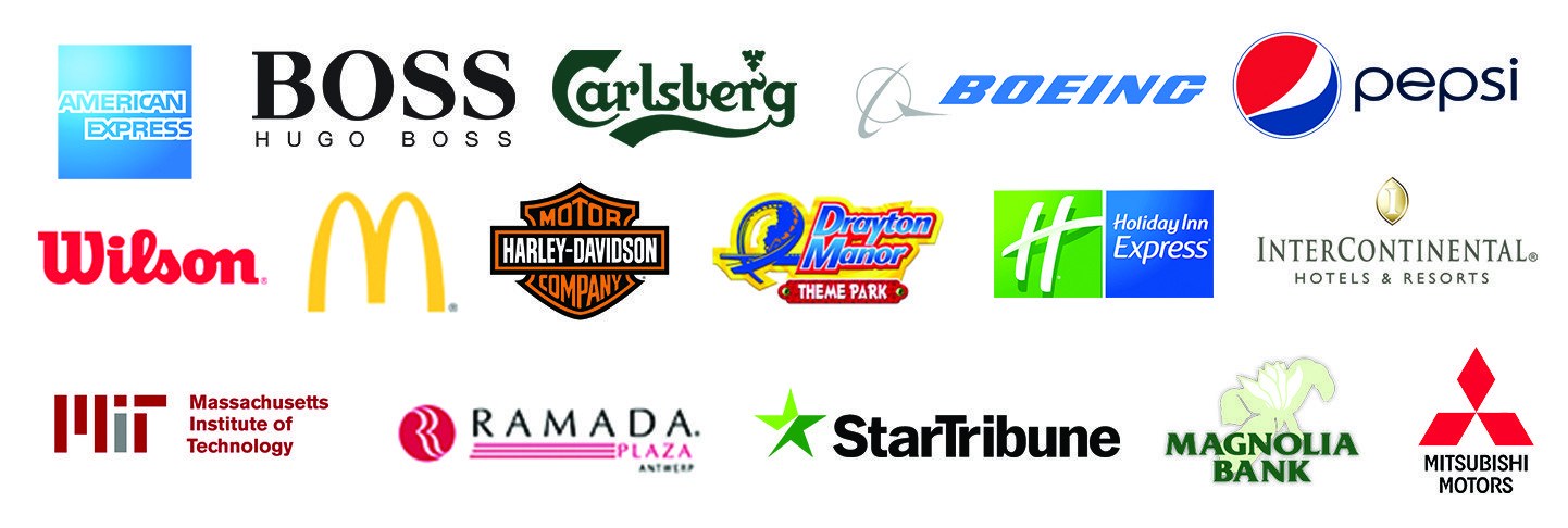 3CX users - American Express, Hugo Boss, Carlsberg, Boeing, Pepsi, Wilson, McDonalds, Harley-Davidson, etc.