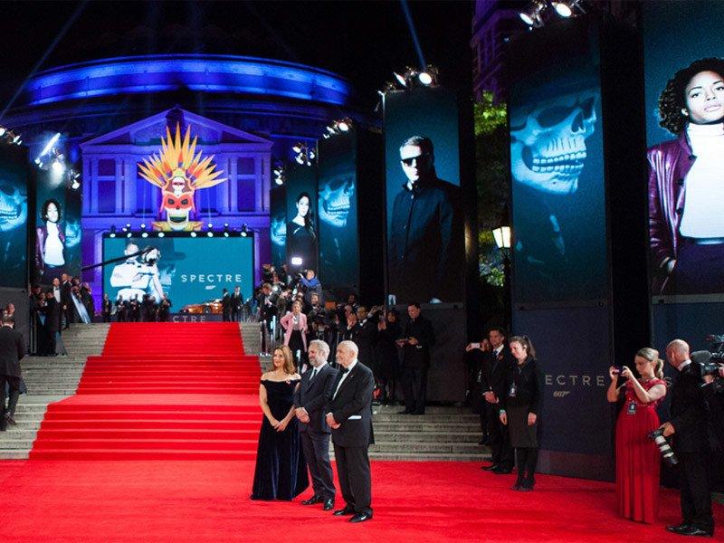 Anna Valley - James Bond Spectre premiere