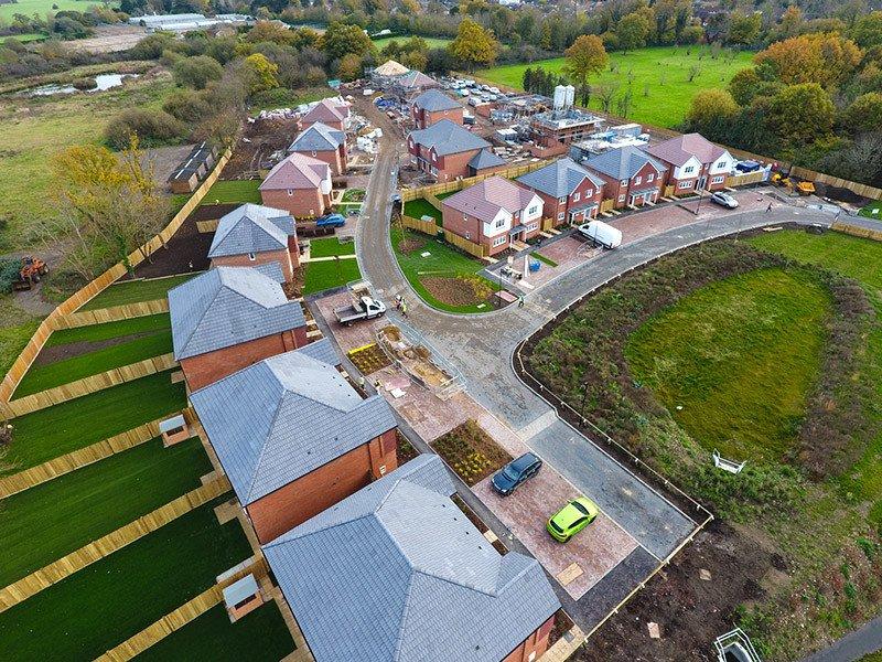Landmark aerial photo