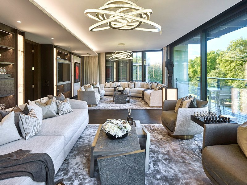 Lansgrove project interior