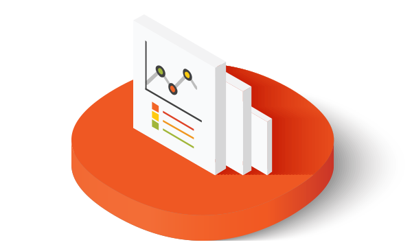 Cost analysis and budgeting icon